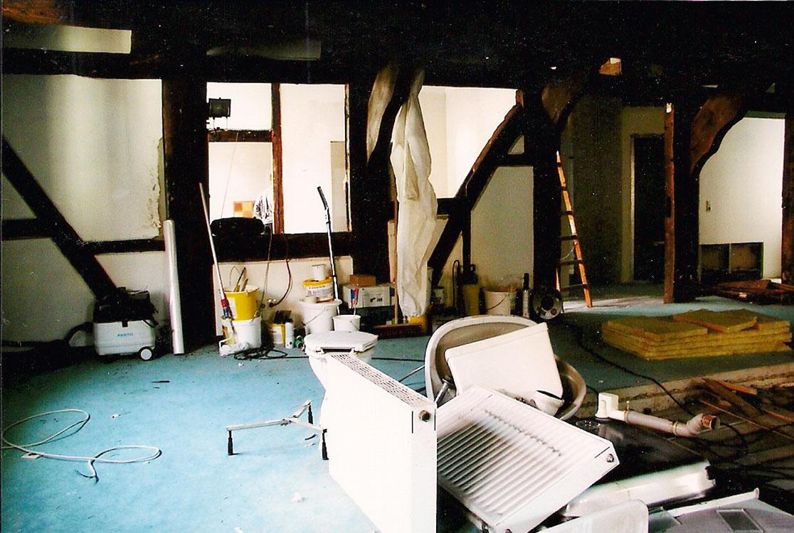 Umbau-erste-Etage